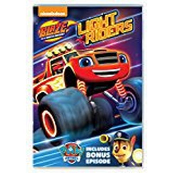 Blaze And The Monster Machines Light Riders Dvd